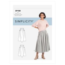 Wykrój Simplicity SS9180