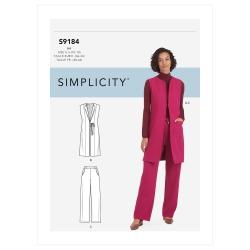 Wykrój Simplicity SS9184
