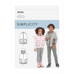 Wykrój Simplicity SS9193