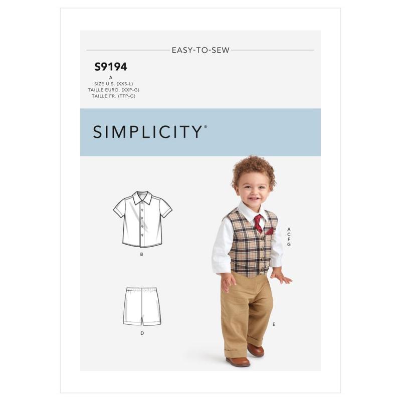 Wykrój Simplicity SS9194