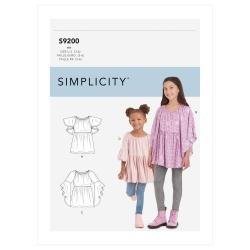 Wykrój Simplicity SS9200