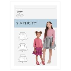 Wykrój Simplicity SS9199