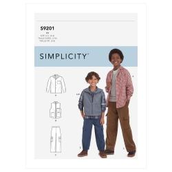 Wykrój Simplicity SS9201