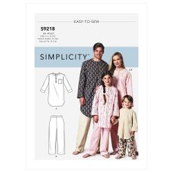 Wykrój Simplicity SS9218