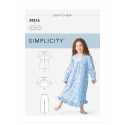 Wykrój Simplicity SS9216