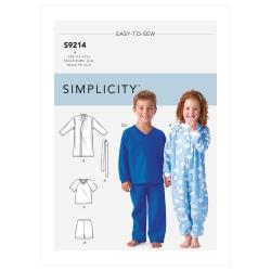 Wykrój Simplicity SS9214