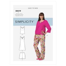 Wykrój Simplicity SS9219