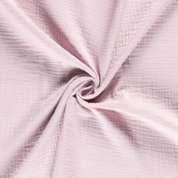 Tkanina bawełniana - muślin - light pink