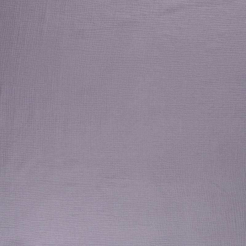 Tkanina bawełniana - muślin - szary