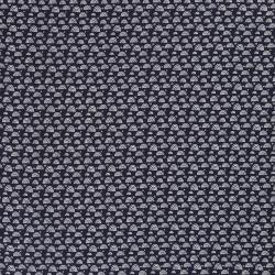 Tkanina bawełniana - muślin - granatowy w tęcze