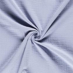 Tkanina bawełniana - muślin - baby blue
