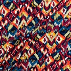 Dziania wiskozowa, jersey - Aztec red