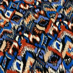 Dziania wiskozowa, jersey - Aztec blue