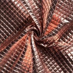 Tkanina pikowana - dark pink