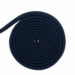 Granatowy sznurek 10 mm bawełniany