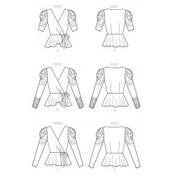simplicity fantasy costume pattern 8363 envelo