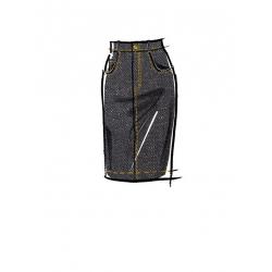 5simplicity vintage 1950s poodle skirt miss pa