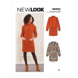 Wykrój New Look N6683