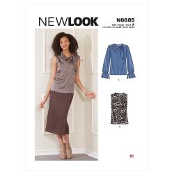 Wykrój New Look N6685