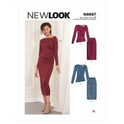 Wykrój New Look N6687