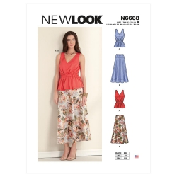 Wykrój New Look N6668
