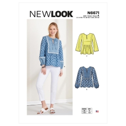 Wykrój New Look N6671