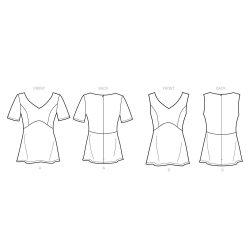 8671 simplicity lolita pattern 8671 AV2