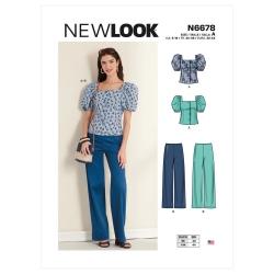 Wykrój New Look N6678