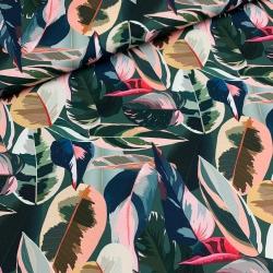 Tkanina wodoodporna tropikalne liście