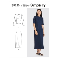 Wykrój Simplicity SS9226