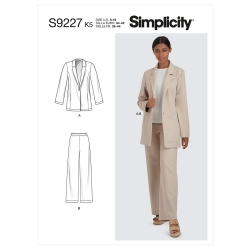 Wykrój Simplicity SS9227
