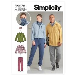 Wykrój Simplicity SS9278