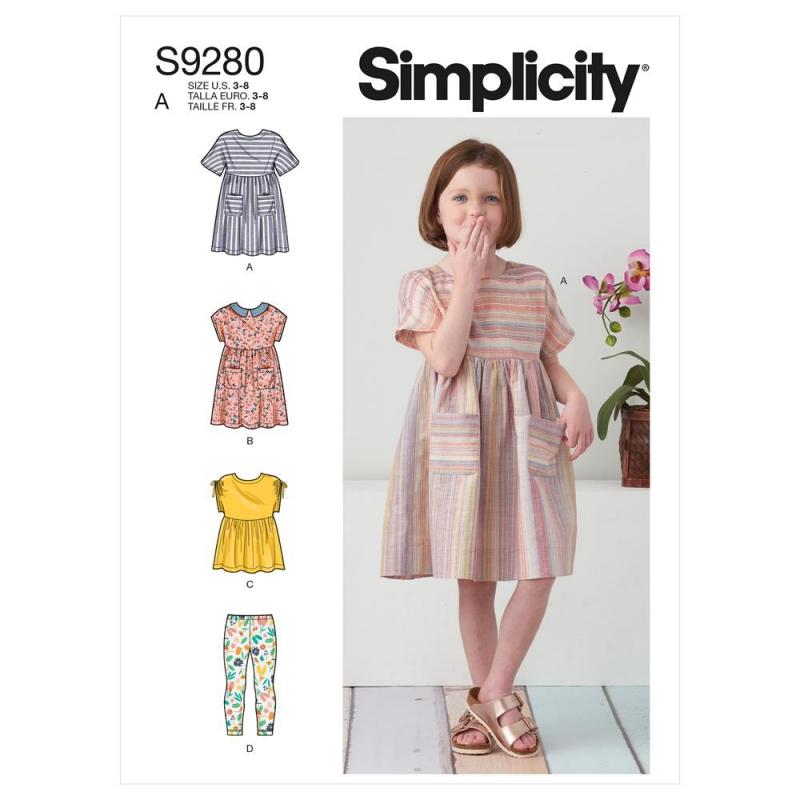 Wykrój Simplicity SS9280