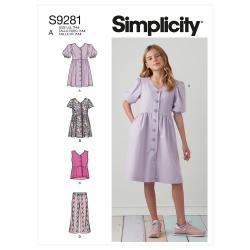 Wykrój Simplicity SS9281