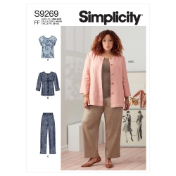Wykrój Simplicity SS9269