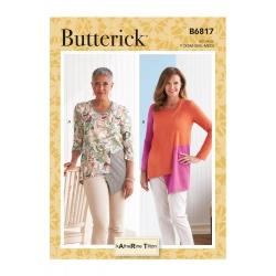 Wykrój Butterick B6817