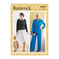Wykrój Butterick B6820
