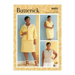 Wykrój Butterick B6822