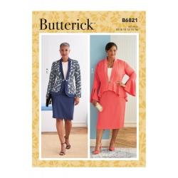 Wykrój Butterick B6821