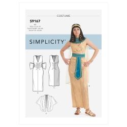 Wykrój Simplicity SS9167