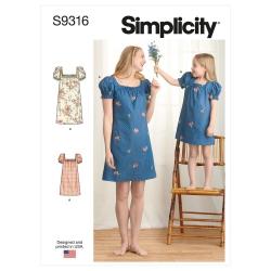 Wykrój Simplicity SS9316