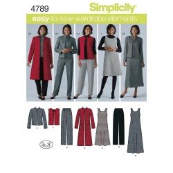 Wykrój Simplicity 4789