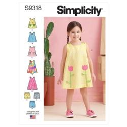 Wykrój Simplicity SS9318