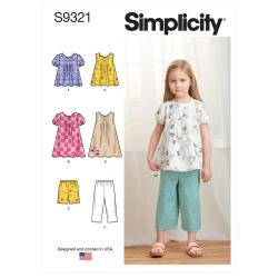 Wykrój Simplicity SS9321