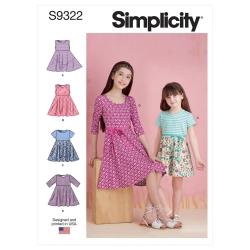 Wykrój Simplicity SS9322