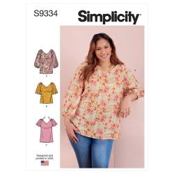 Wykrój Simplicity SS9334