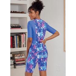3 simplicity robe bralette pajamas pattern 880