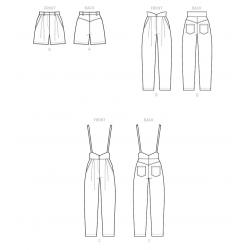 4 simplicity robe bralette pajamas pattern 880