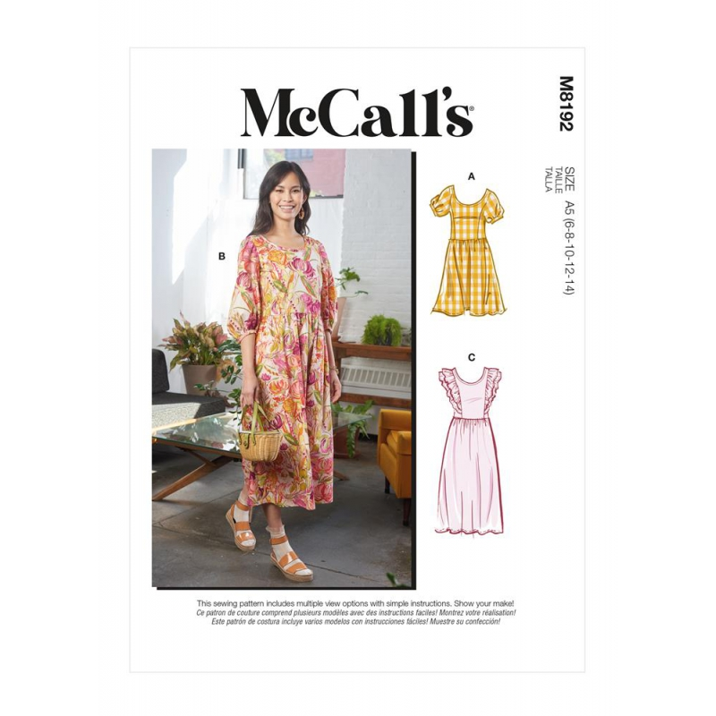 Wykrój McCall's M8192