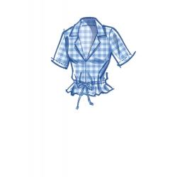 simplicity vintage apron 1950s pattern 8814 en